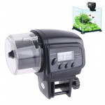 AF-2009D Aquarium Fish Tank Digital LCD Auto Timer Feeders Pet Feeding Dispenser, Capacity: 30-80g