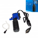 ZY-M2 4W 400L/H Multi-function Submersible Aquarium Water Pump Circulation Pump Fish Tank Internal Air Filter