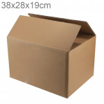 Shipping Packing Moving Kraft Paper Boxes, Size: 38x28x19cm