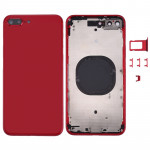 Back Housing Cover for iPhone 8 Plus (Red)