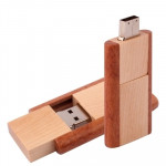 4 GB Wood Material USB Flash Disk