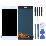 LCD Screen and Digitizer Full Assembly for OPPO R7s(White)