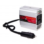 SUVPR DY-8102 150W DC 12V to AC 220V Car Power Inverter with 500mA USB Port & Universal Power Socket