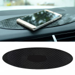 Car Auto Oval Soft Rubber Dashboard Anti-slip Pad Mat for Phone / GPS/ MP4/ MP3, Size: 30*9.5cm