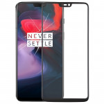 Front Screen Outer Glass Lens for OnePlus 6(Black)