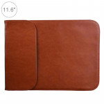 11.6 inch PU + Nylon Laptop Bag Case Sleeve Notebook Carry Bag, For MacBook, Samsung, Xiaomi, Lenovo, Sony, DELL, ASUS, HP(Cowhi