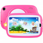 Tablette enfant Kids Education Tablet PC, 7 pouces, 512 Mo + 4 Go, Android 4.4 Allwinner A33 Quad Core, WiFi / Bluetooth, ave...