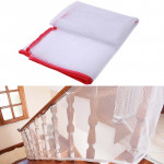 3m Thickening Safety Cope Braided Balcony Stair Safety Net for Child(Red)