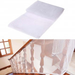 3m Thickening Safety Cope Braided Balcony Stair Safety Net for Child(White)