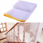 3m Thickening Safety Cope Braided Balcony Stair Safety Net for Child(Yellow)