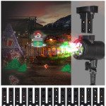 Blinblin CPF-LM401 IP65 Waterproof White Light Aluminum Shell Landscape Light, Outdoor Lawn Lamp with 8 Groups Patterns