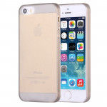High Quality 0.4mm Ultra Thin Polycarbonate Materials Protection Shell for iPhone 5 & 5S(Grey)