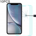 10 PCS ENKAY Hat-Prince 0.26mm 9H 2.5D Tempered Glass Film for iPhone XR