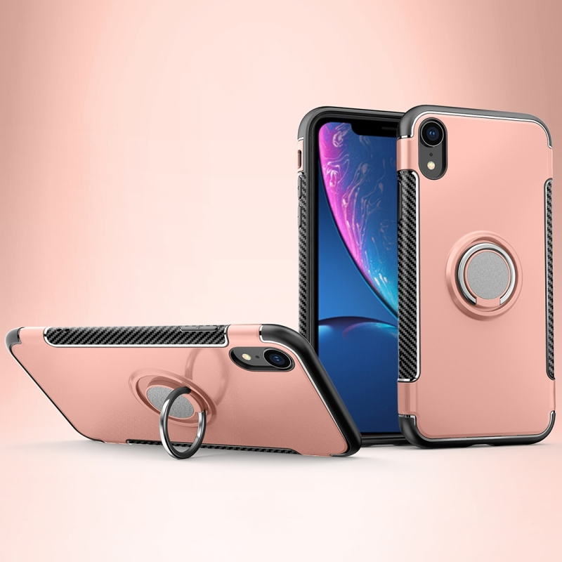 coque iphone xr aimantee rose