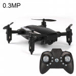 LF606 Wifi FPV Mini Quadcopter Foldable RC Drone with 0.3MP Camera & Remote Control, One Battery, Support One Key Take-off / Lan