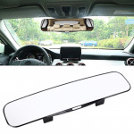 3R-331 Car Truck Interior Rear View Blind Spot Adjustable Wide Angle Curved Mirror, Size: 30*8.5*3.5cm
