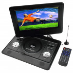 10 inch TFT LCD Screen Digital Multimedia Portable DVD with Card Reader & USB Port, Support TV (PAL / NTSC / SECAM) & Game Funct
