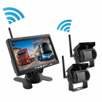 PZ607-W-D2 7.0 inch Wireless Digital Audio and Video 2 Separate Reversing Car Monitor