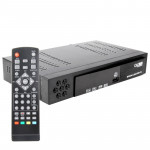 1080P HD DVB-T Set Top Box with Remote Controller, Support Recording Function and USB 2.0 Interface, MPEG-2 / MPEG-4 / H.264 Com