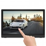 24 inch Full HD 1080P Touch Screen Android 4.4 Digital Picture Frame with Holder, Quad Core Cortex A9 1.6G, RK3188, RAM: 1GB, RO