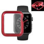 Magnetic Metal Frame Protective Case for Apple Watch Series 3 & 2 42mm(Red)