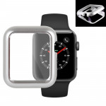 Magnetic Metal Frame Protective Case for Apple Watch Series 3 & 2 42mm(Silver)