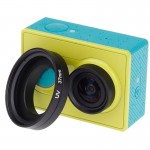 37mm UV Filter Lens Filter with Cap for Xiaomi Xiaoyi Sport Camera