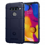 Full Coverage Shockproof TPU Case for LG V40 ThinQ (Blue)