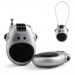 JASIT Portable Multifunction Cute Cow Travel Luggage Password Lock