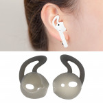 Wireless Bluetooth Earphone Silicone Ear Caps Earpads for Apple AirPods (Grey)