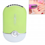 Portable Handheld Mini Pocket USB Air Conditioning Cooling Fan Grafted Eyelashes Dryer (Green)