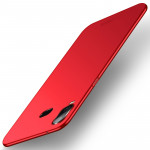 MOFI Frosted PC Ultra-thin Full Coverage Case for Galaxy A6s (Red)