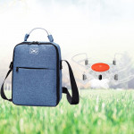 Portable Case Shoulder Bag with Sponge Liner for Xiaomi Mitu Drone and Accessories (Blue)
