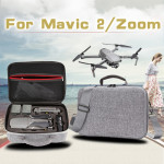 Shockproof Waterproof Portable Case for DJI Mavic 2 Pro / Zoom and Accessories, Size: 29cm x 19.5cm x 12.5cm (Grey)