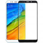 Front Screen Outer Glass Lens for Xiaomi Redmi Note 5 (Black)