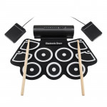 MD760 USB Electronic Drum Percussion Thicken Silicone Hand Roll Drum