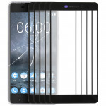 10 PCS Front Screen Outer Glass Lens for Nokia 6 (2nd Gen)(Black)
