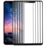 10 PCS Front Screen Outer Glass Lens for Xiaomi Redmi Note 6 (Black)