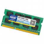XIEDE DDR3 1600 4G Double-sided 16 Pieces of 256 Particles Memory RAM Module for Laptop