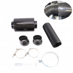 Car Cooling Intake System Cold Feed Induction Kit Carbon Fiber Air Filter Box
