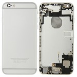 iPartsBuy for iPhone 6 Full Housing Back Cover(Silver)