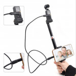 DJI OSMO Pocket Portable Extendable Selfie Stick Folding Self Timer Rod for Android Phone(Micro USB)