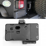 Car Tail Rear License Plate Frame Number Holder Mounting Bracket with Light for Jeep Wrangler JK 2007-2017
