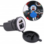 Universal Motorcycle USB Phone Charger Fast Charging, Random Color Delivery