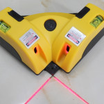 Right Angle 90 Degree Laser Level Cross Line Tiling Leveling Laser Beam Measurement Tool