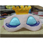 2 PCS 3D Plush Princess Sleep Mask Rest Travel Sleeping Cover Eye-patch(Pink)