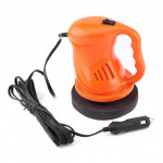 Electric Car Polisher Waxing Polishing Machine Kit Automation Cleaning Car Buffing ABS Car Accessories, Color:orange