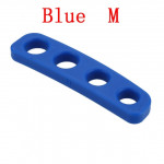 Silicone Shot Lock Basketball Ball Shooting Trainer Training Accessories(Blue M)