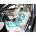 12V Car Summer Cool Ventilated Seat Cover with Fan Cooler Seat Cover