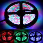 Epoxy Waterproof RGB LED 2835 SMD Rope Light, DC 12V, 60 LED/M, Length: 5M